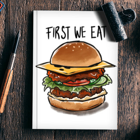 First we eat Notebook | Artist : Aniruddha Lele