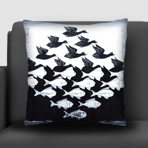 Illusion Cushion Covers | Artist : Rahul Tanwar