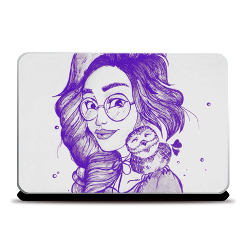 Be your own kind of beautiful (Purple) Laptop Skins | Artist : Asees Kaur