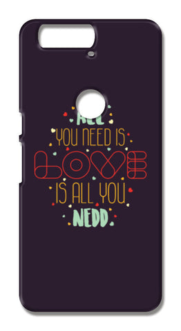 All you need is love is all you need Huawei Nexus 6P Cases | Artist : Designerchennai