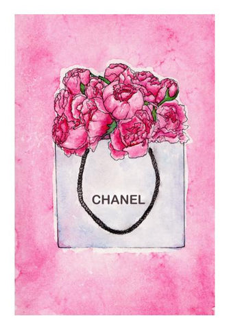 PosterGully Specials, Chanel Hand Bag Wall Art | Artist : Anniez Artwork, - PosterGully