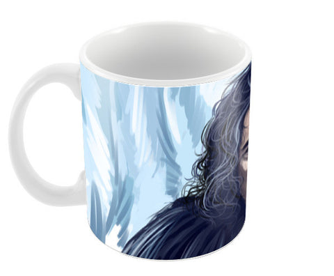 the king in the north Coffee Mugs | Artist : chaitanya kumar