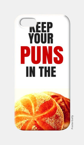 iPhone 5 Cases, Keep your puns in the buns | iPhone 5 Cases | Nikhil Wad, - PosterGully