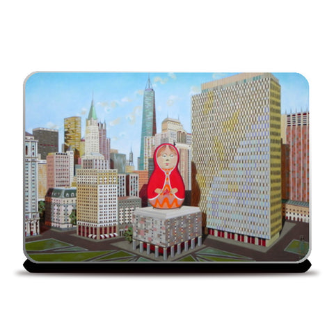 matrioska Laptop Skins | Artist : federico cortese