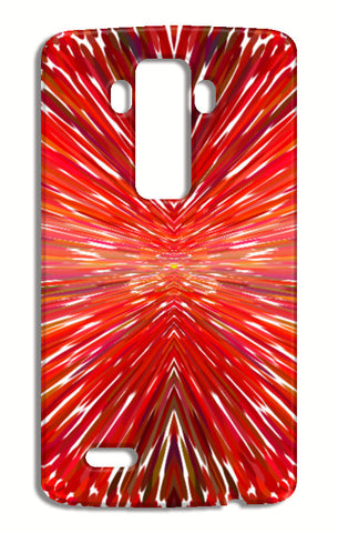 Abstract Red Burst Modern Design LG G4 Cases | Artist : Seema Hooda
