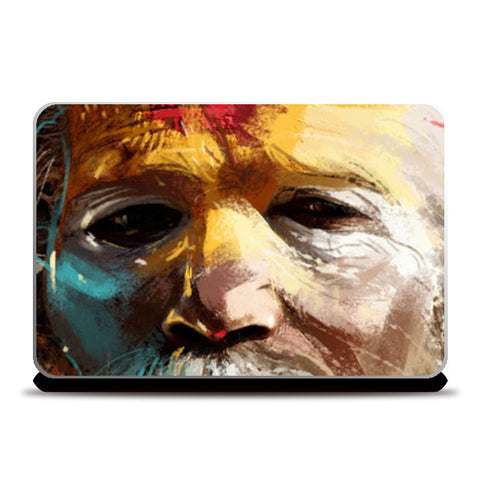 Laptop Skins, sadhu Laptop Skin | kishore ghosh, - PosterGully