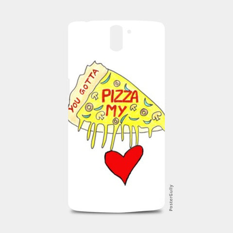 Pizza Love One Plus One Cases | Artist : Ajooni Singh