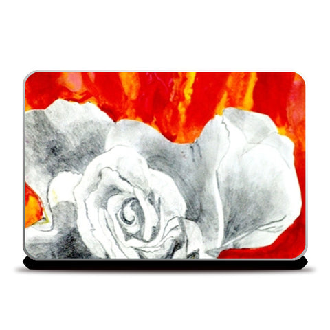 Abstract Rose Laptop Skins | Artist : Ajooni Singh