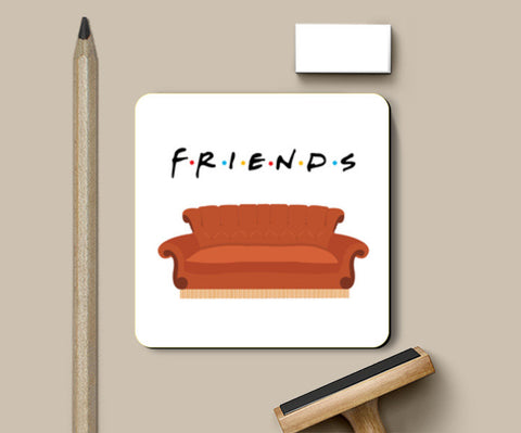 Coasters, Central Perk Friends Couch Coasters | Artist : safira mumtaz, - PosterGully