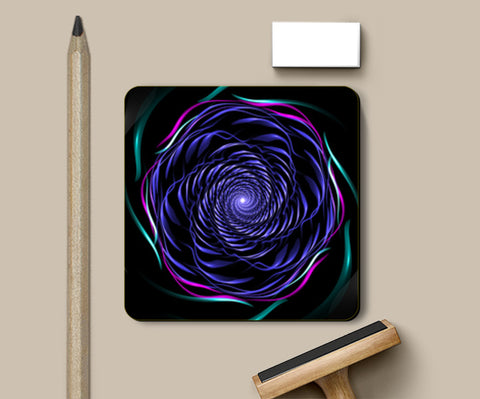 PosterGully Coasters, Psychedelic whirl Coasters | Artist : Jessica Maria, - PosterGully