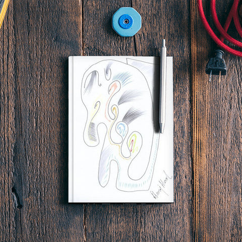 The Baby Elephant Notebook | Artist : Dheeraj Abrol
