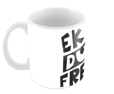 Ek Dum Fresh Coffee Mugs | Artist : Nitin Kapoor
