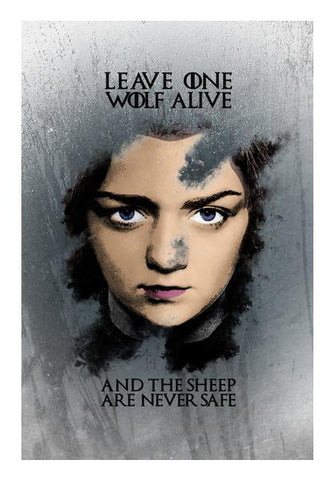 PosterGully Specials, Game of Thrones | Arya Stark 2 | Wall Art | Artist : Vivid Corner, - PosterGully