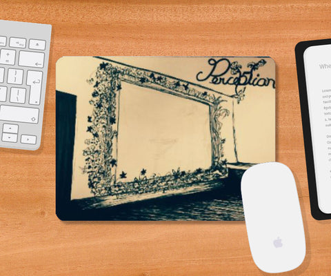 Mousepad, Perception Mousepad | Artist: Amrit Singh, - PosterGully