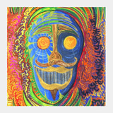 Square Art Prints, The Face of the श्रमण Square Art Prints | Artist : Luke's Art Voyage, - PosterGully