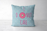 Donut Cushion Cover | Artist: Vidushi Jain