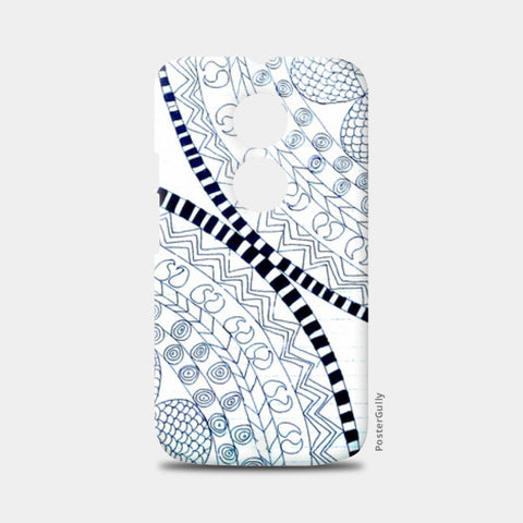 Symme3 (Doodle All The Way!) Moto X2 Cases | Artist : Hansika Sachdeva