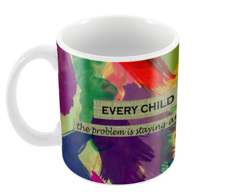 Every child is an artist Coffee Mugs | Artist : Surabhi Purwar