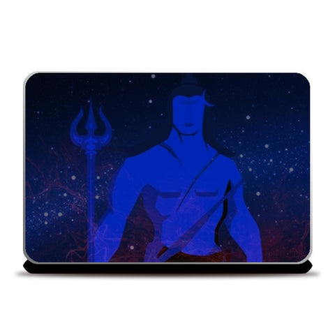 Lord Shiva Laptop Skins | Artist : Tiny Dots