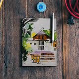 The Abandoned Hut Notebook | Artist : Rahul Tanwar