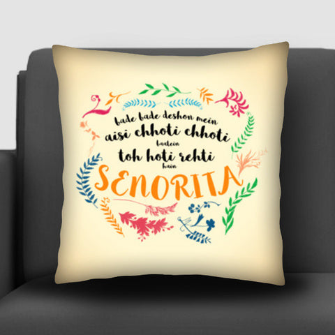 Shah Rukh Khan Epic Dialogues 3 Cushion Covers | Artist : Rashi Srivastava