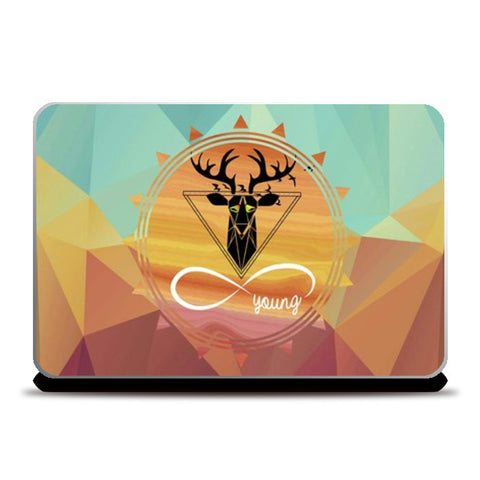 Young and free Laptop Skins | Artist : nilesh gupta