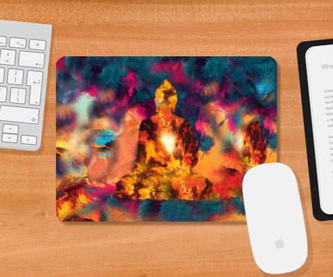 Buddha Mousepad | Artist : Tiny Dots