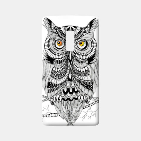 One Plus Two Cases, Doodle Owl One Plus Two Cases | Artist : Swathi Kirthyvasan, - PosterGully