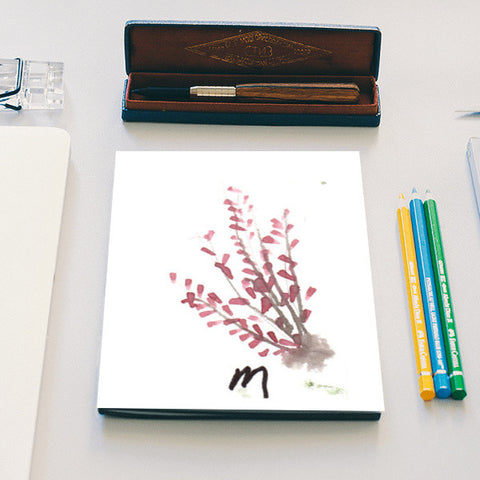 A touch of Fuschia Notebook | Artist : Manas Arvind