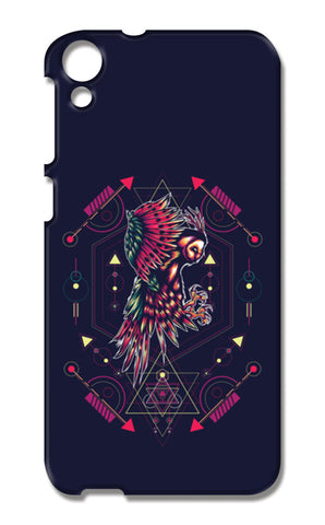Owl Artwork HTC Desire 820 Cases | Artist : Inderpreet Singh