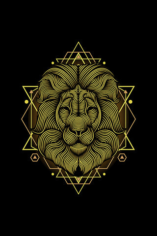 Lion Intricate Artwork