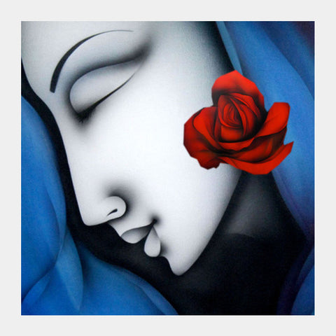 beauty Square Art Prints | Artist : Pradeesh K