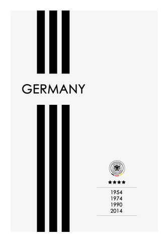 Germany Forever Wall Art | Artist : Alok Sharma