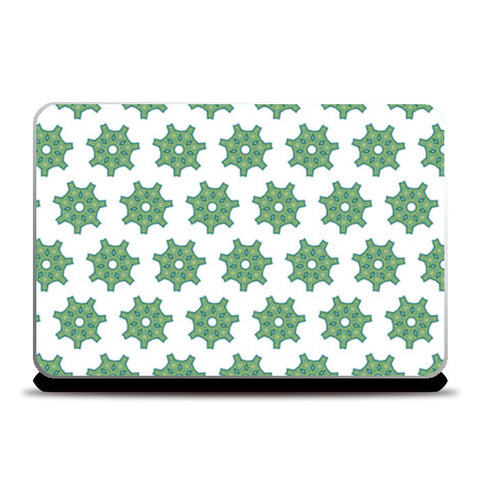 Green Design Pattern   Laptop Skins | Artist : Delusion