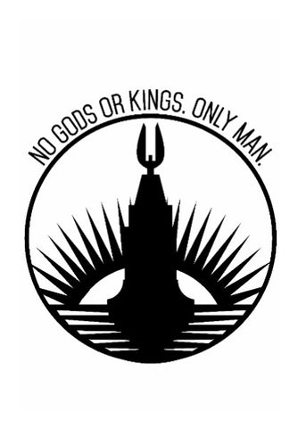 Wall Art, No Gods or Kings | Bioshock | Artist: GamingMonk, - PosterGully