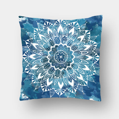 Cushion Covers, Sudarshan Chakra Cushion Covers | Artist : Swathi Kirthyvasan, - PosterGully