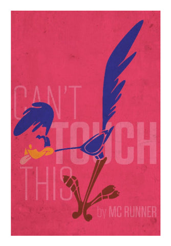 Wall Art, Road Runner - Can't Touch This Wall Art | Rishabh Bhargava, - PosterGully