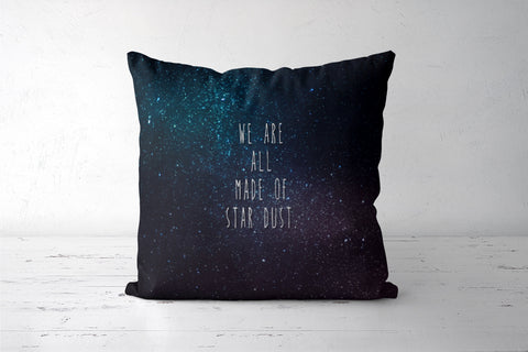 We Are All Made Of Stardust Cushion Covers | Artist : Dr. Green