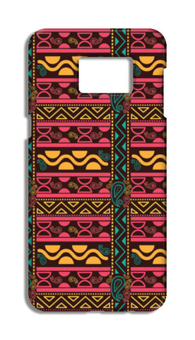 Abstract geometric pattern african style Samsung Galaxy S6 Edge Plus Cases | Artist : Designerchennai