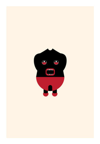 Horror angry kid Wall Art | Artist : Mani Selvam