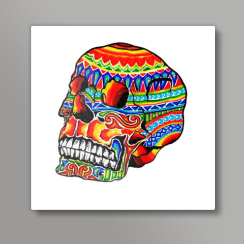 colorful life (after death) Metal Prints | Artist : amit kumar