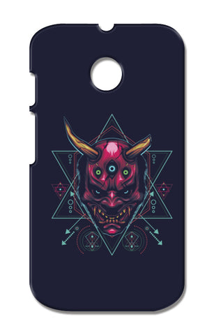 The Mask Moto E XT1021 Cases | Artist : Inderpreet Singh