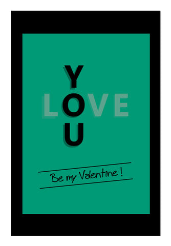 Wall Art, Be My Valentine Wall Art | Artist : Soumajit Dutta, - PosterGully