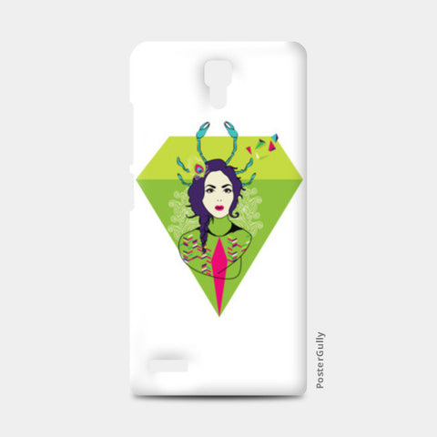 Diamond Girl Redmi Note Cases | Artist : Manvi Kaushal