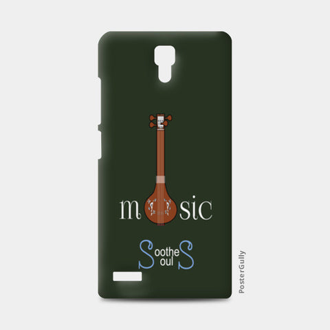 Redmi Note Cases, Music Soothes Souls Redmi Note Cases | Artist : Sri Arts, - PosterGully