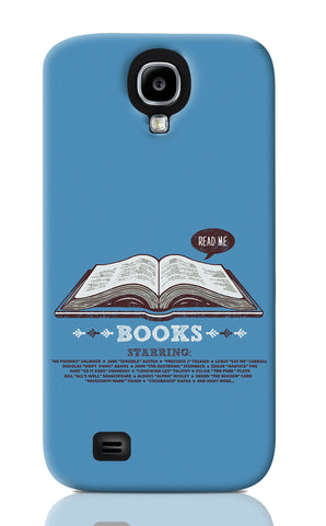 Samsung S4 Cases, Books Blue Samsung S4 Case | By Captain Kyso, - PosterGully