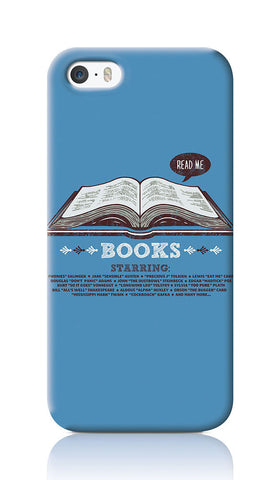 iPhone Cases, Books Blue iPhone 5/5S Case | By Captain Kyso, - PosterGully