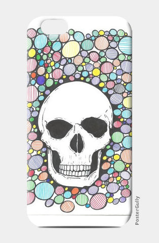 colored death iPhone 6/6S Cases | Artist : Raj Patel