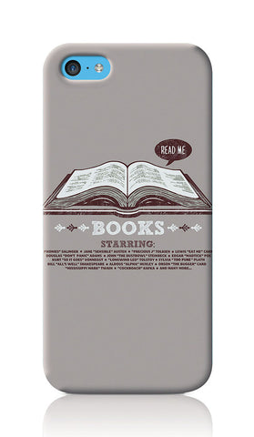 iPhone Cases, Books Grey iPhone 5C Case | By Captain Kyso, - PosterGully