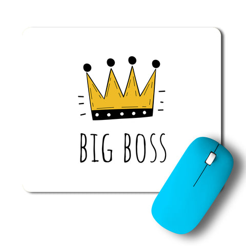 Big Boss Crown Minimal Artwork Mousepad